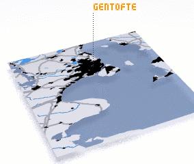 Gentofte (Denmark) map - nona.net