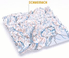 3d view of Schweinach