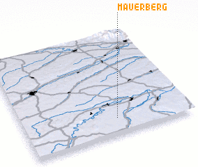 3d view of Mauerberg