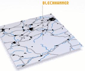3d view of Blechhammer
