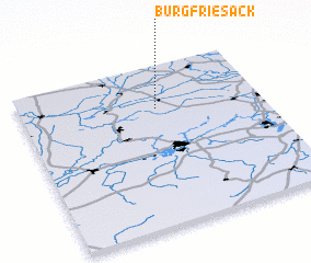 3d view of Burg Friesack