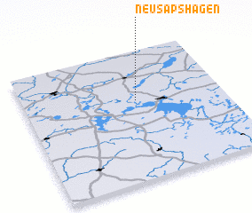 3d view of Neu Sapshagen