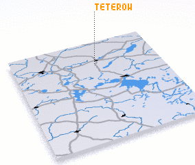 3d view of Teterow