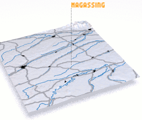 3d view of Magassing