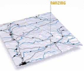 3d view of Nanzing