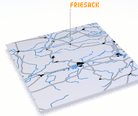 3d view of Friesack
