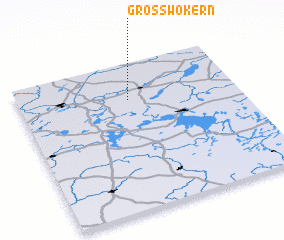 3d view of Groß Wokern