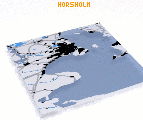 Hrsholm Denmark map nonanet