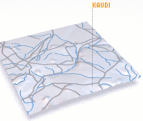 3d view of Kaudi