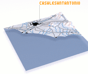 3d view of Casale Sant'Antonio