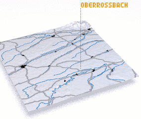 3d view of Oberroßbach