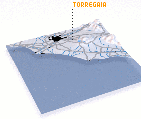 3d view of Torre Gaia