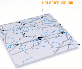 3d view of Kolonie Buschow
