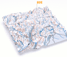 3d view of Aue