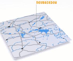 3d view of Neu Basedow