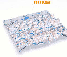 3d view of Tettelham
