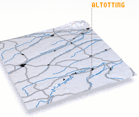3d view of Altötting