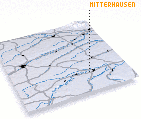 3d view of Mitterhausen