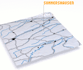 3d view of Sommershausen