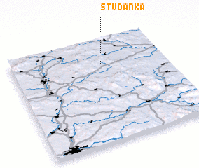 3d view of Studánka