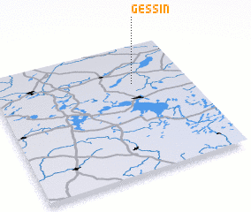 3d view of Gessin
