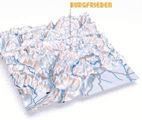 3d view of Burgfrieden