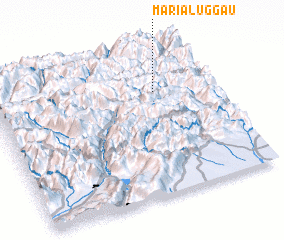 3d view of Maria Luggau