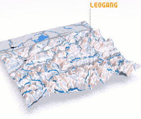 3d view of Leogang