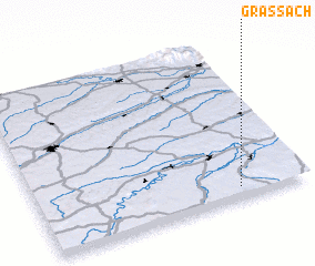 3d view of Grassach