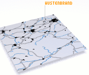 3d view of Wüstenbrand