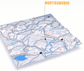 3d view of Montegaudio