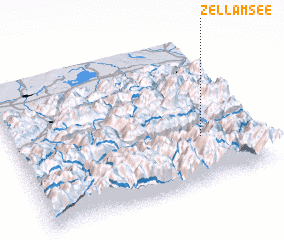 3d view of Zell am See