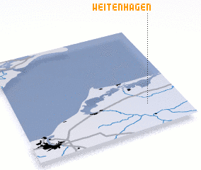 3d view of Weitenhagen