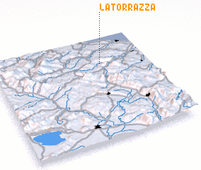 3d view of La Torrazza