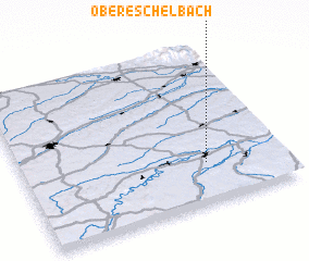3d view of Obereschelbach