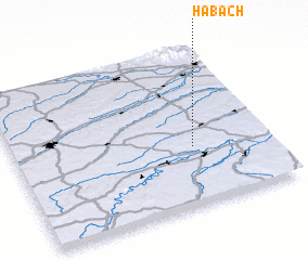 3d view of Habach
