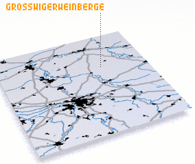 3d view of Großwiger Weinberge