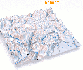 3d view of Debant