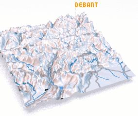 3d view of Debant
