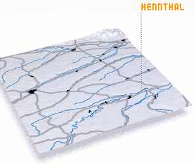 3d view of Hennthal