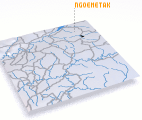 3d view of Ngoémétak