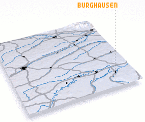 3d view of Burghausen