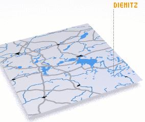 3d view of Diemitz