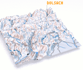 3d view of Dölsach