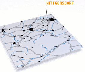 3d view of Wittgensdorf