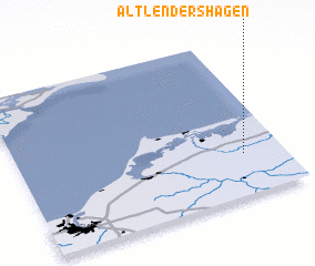 3d view of Altlendershagen