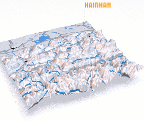 3d view of Hainham