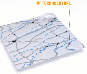 3d view of Unterdaxenthal