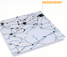 3d view of Meinersdorf