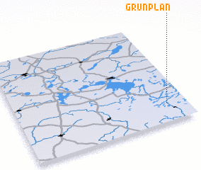 3d view of Grünplan